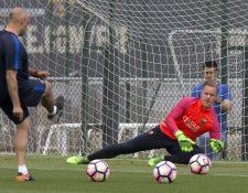 El guardameta Ter Stegen defenderá los colores de la selección alemana. (Foto Prensa Libre: Hemeroteca PL)