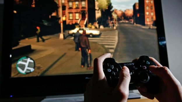 Grand Theft Auto también es un juego de mundo abierto. CATE GILLON/GETTY IMAGES