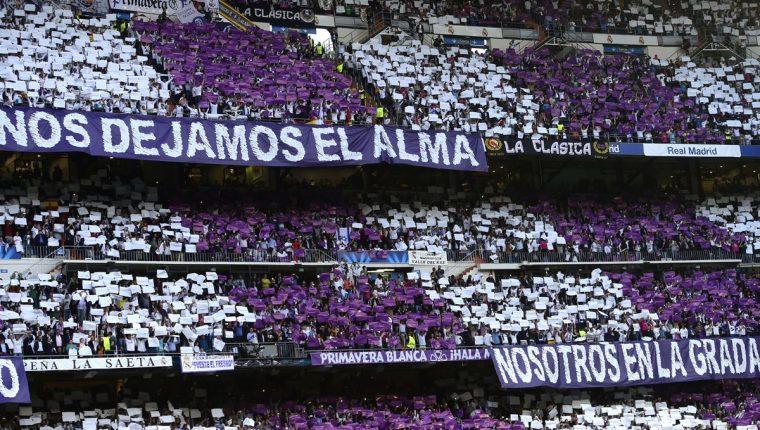 En el Santiago Bernabéu, estadio del Real Madrid, se podrá consumir cerveza esta temporada de la Champions League. (Foto Prensa Libre: Hemeroteca)