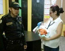 El bebé fue entregado a la Procuraduría General de la Nación.(Foto Prensa Libre:cortesía)