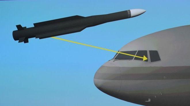 Los expertos aseguran que el misil pertenecía a una brigada del ejército ruso. AFP