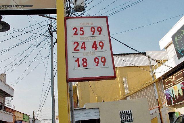 Chiquimula es el área en donde se registran los precios más altos de gasolina en sus tres presentaciones. (Foto Prensa Libre: Mario Morales)