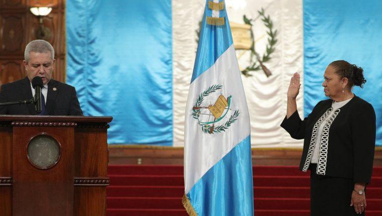 María Consuelo Porras Argueta, tomará posesión al frente del Ministerio Público oficialmente el mañana 17 de mayo. (Foto Prensa Libre: Carlos Hernández)