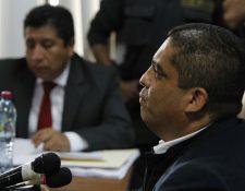 Juan Carlos Monzón declara en el Juzgado de Extinción de Dominio por un helicóptero que Roxaba Baldetti regaló a Otto Pérez Molina (Foto Prensa Libre: Paulo Raquec)