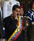 Nicolás Maduro estaba dando un discurso sobre la Guardia Nacional Bolivariana junto a su esposa Cilia Flores cuando ocurrió la explosión. (Getty Images)