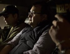 Javier Duarte, exgobernador de Veracruz, México, fue capturado en Panajachel, Sololá, la noche del sábado. Luego fue trasladado a la prisión en el Cuartel Matamoros. (Foto, Prensa Libre: AP).