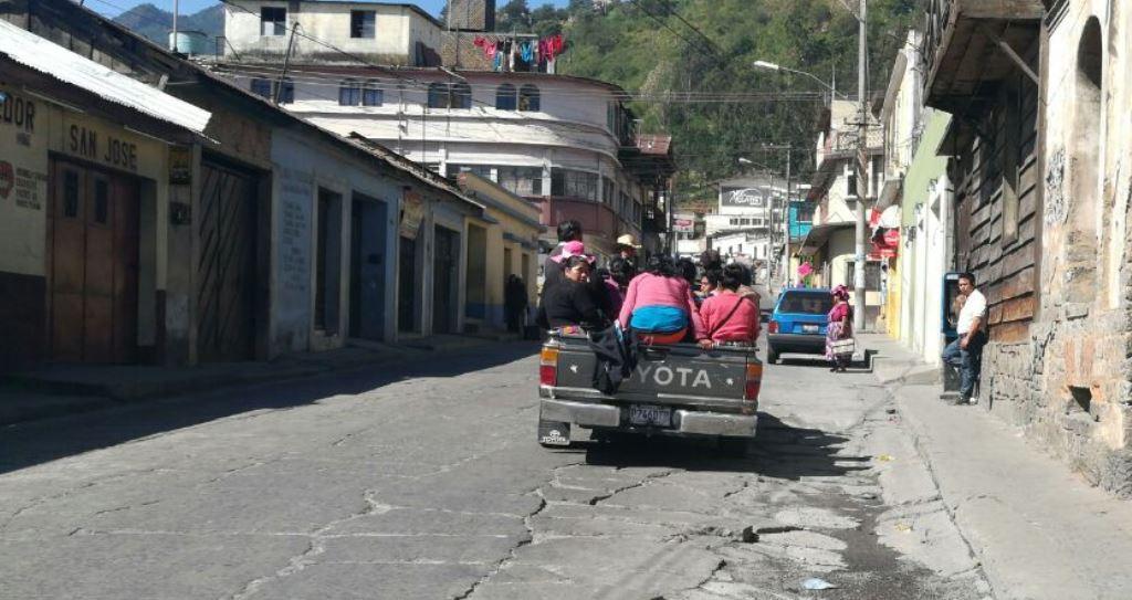 Servicio de buses hacia Almolonga es irregular por ataque armado
