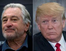 El actor Robert De Niro insultó al presidente de Estados Unidos en la gala de los premios Tony. (Foto Prensa Libre: AFP)