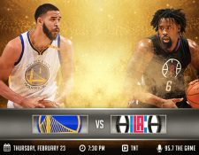 Los Ángeles Clippers visitarán a Golden State Warriors. (Foto Prensa Libre: Twitter Warriors)
