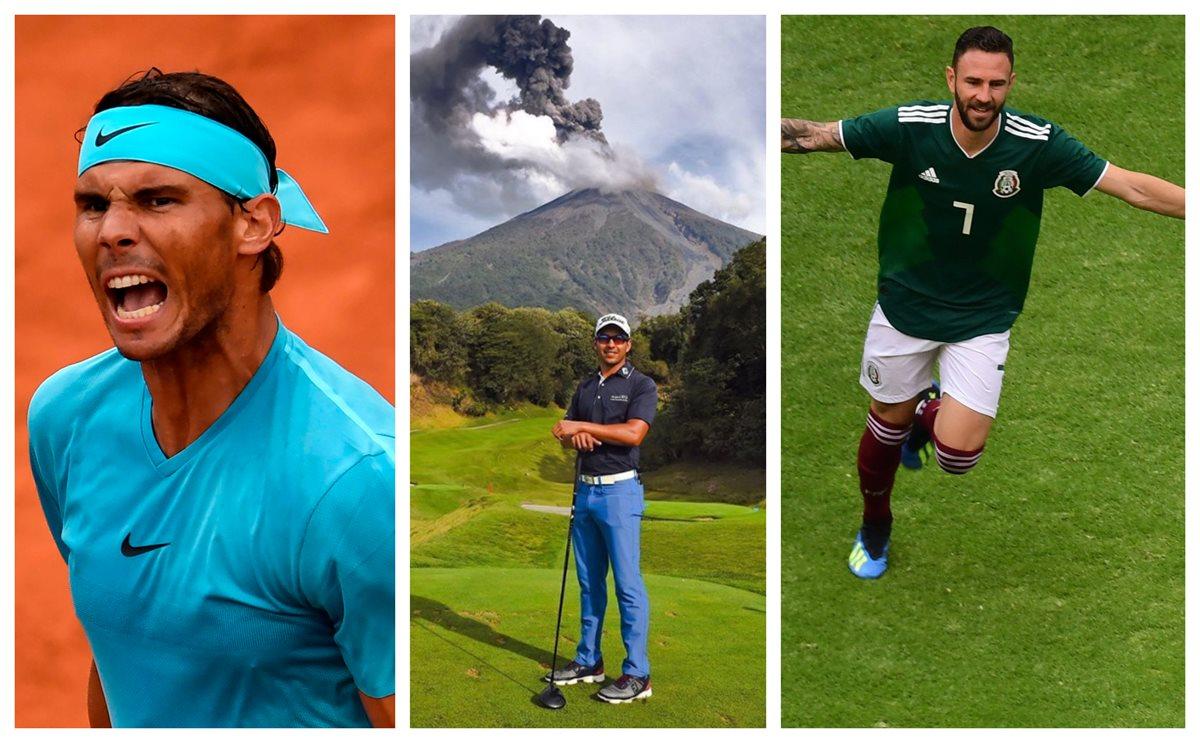 Volcán de Fuego   Rafael Nadal y Miguel Layún se unen al golfista guatemalteco José Toledo para apoyar a víctimas