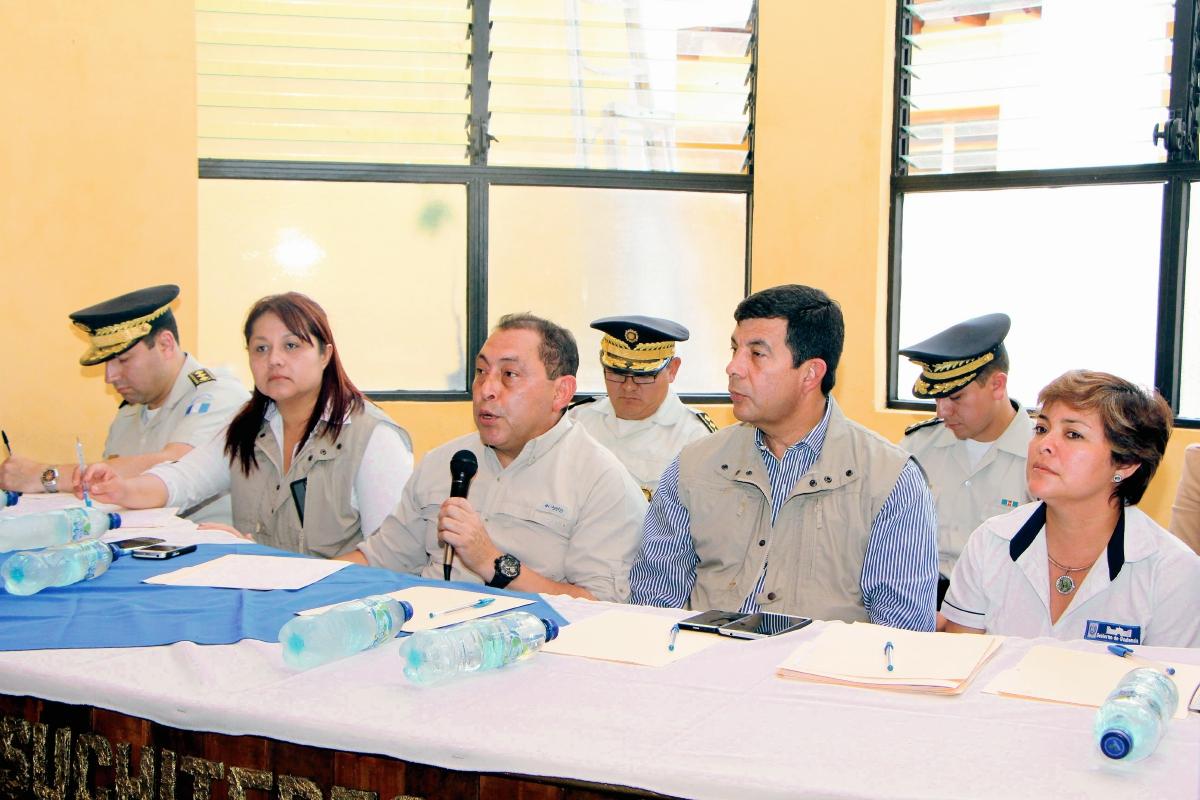 PNC y Ejército darán protección a periodistas de Mazatenango