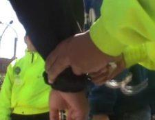 Imagen de referencia. Detienen a patrullero. (Cortesía Policía Metropolitana)