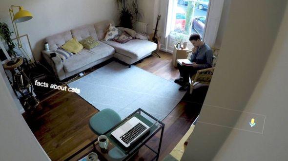 """El reportero de televisión de la BBC Stephen Beckett está habituado a que otros lo observen, pero no en su casa. En la barra del buscador pone """"cosas sobre gatos"""", como una muestra de las formas de perder el tiempo que existen."""