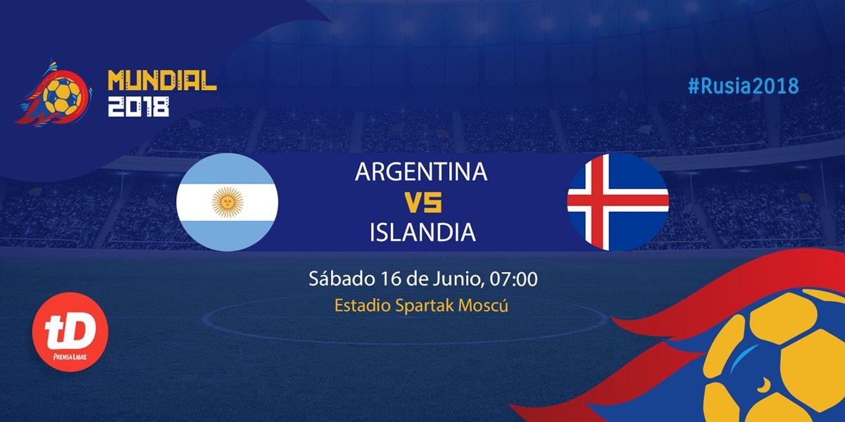 EN DIRECTO   Argentina vs Islandia