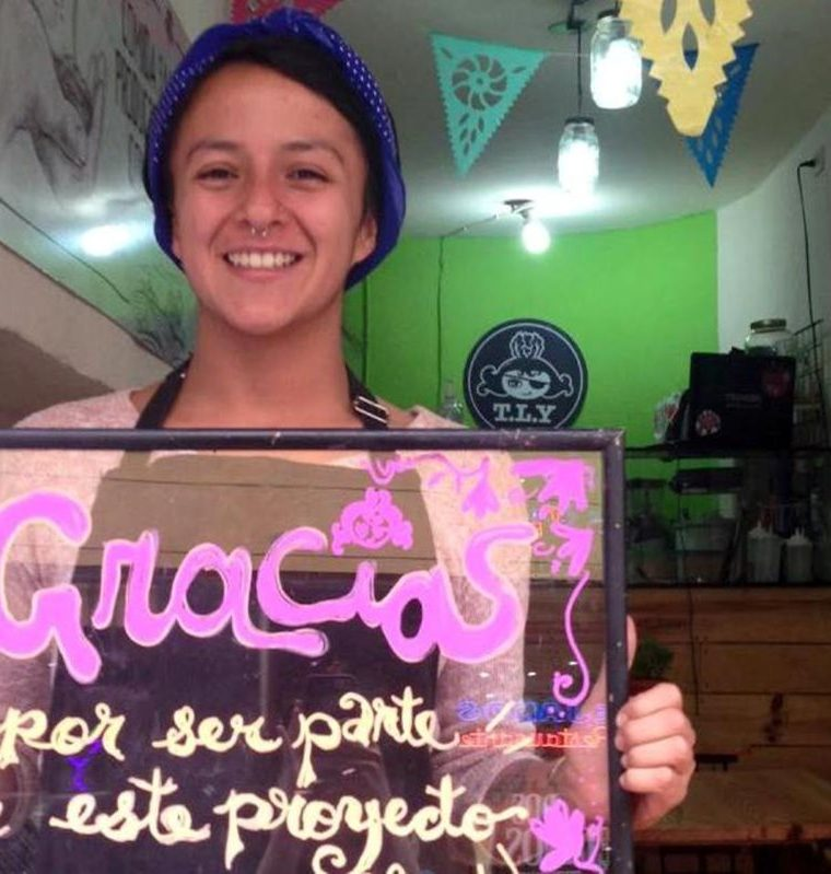 Gabriela Villatoro ha logrado con su proyecto Tan Lechuga Yo promover el consumo de comida saludable. (Foto Prensa Libre: María Longo)