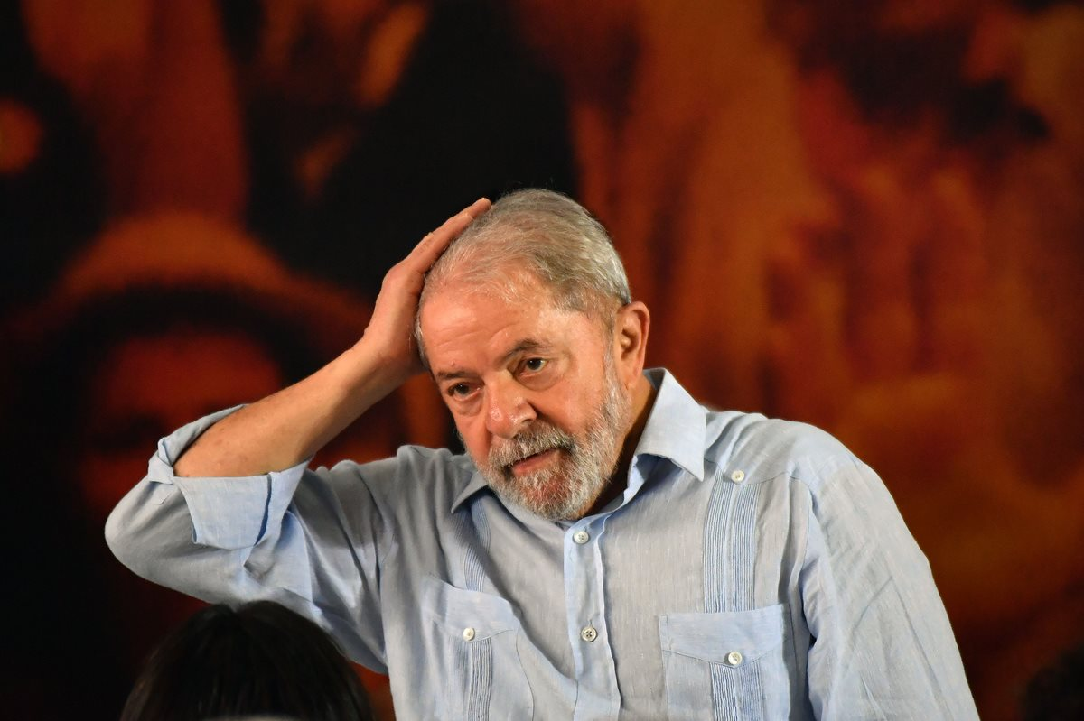 Luiz Inacio Lula da Silva, expresidente brasileño. (Foto Prensa Libre: AFP)