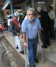 """""""A pesar de lo que ha pasado, los guatemaltecos debemos votar"""", expresó Julio Cante, de 62 años, vecino de colonia La Reina, zona 6."""