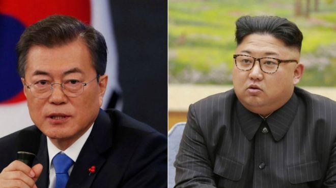 Ambas Coreas comenzaron su acercamiento durante los Juegos Olímpicos de Invierno que organizó el Sur. GETTY IMAGES