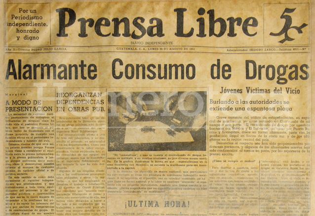 Estas eran las noticias que impactaron hace 68 años