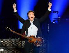 Paul McCartney, exbajista de The Beatles, instó al Parlamento Europeo para aprobar las reformas (Foto Prensa Libre: AFP).