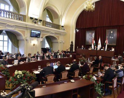 La Asamblea General de Budapest se reunió para descartar su candidatura a los Juegos Olímpicos de 2024. (Foto Prensa Libre: AP)