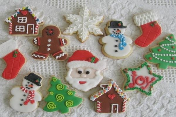 Deliciosas galletas para ambientar las fiestas