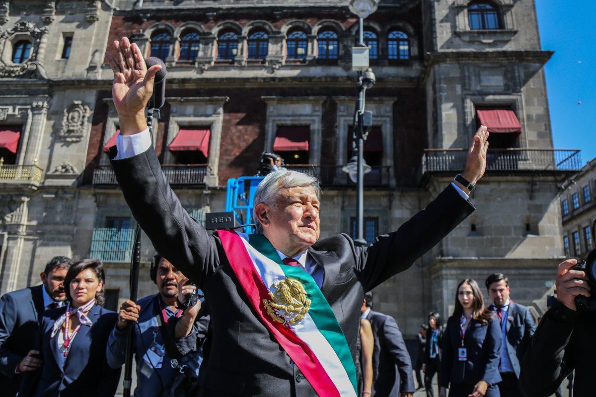 AMLO toma posesión en México