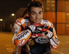 Dani Pedrosa confía en hacer un buen papel en el próximo mundial de MotoGP. (Foto Prensa Libre).
