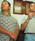 Obdulio Villanueva y Byron Lima fueron encontrados culpables por la muerte de monseñor Gerardi en 2001. (Foto: Hemeroteca PL)