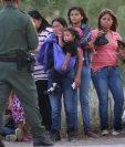 De 150 migrantes rescatados, 62 eran menores (EFE)