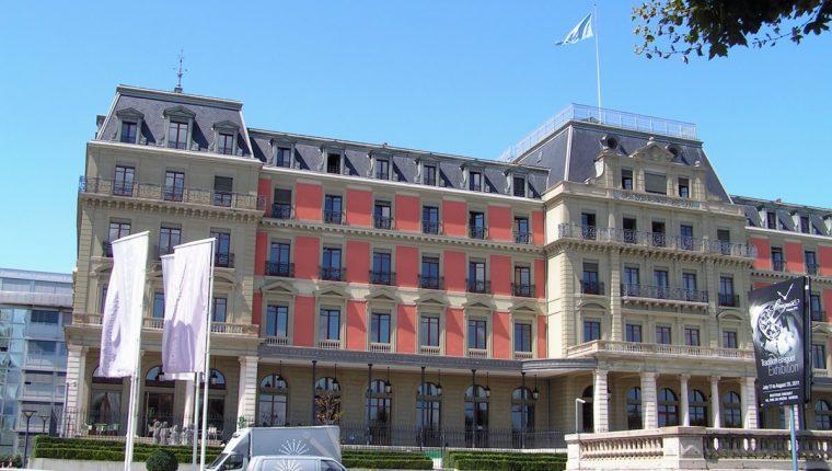 La reunión que sostendrá los representantes nacionales con el Comité de Derechos Humanos se desarrollará en el Palacio Wilson, en Ginebra, Suiza. (Foto tomada de Wikimedia/Romano Carmesi).