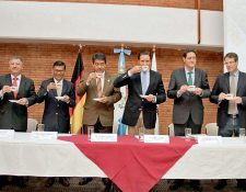 Directivos de Anacafé presentan programa de actividades del Primer Congreso del Sector Orgánico Nacional.