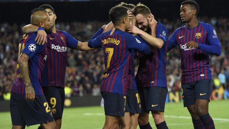 El Barcelona recibe este domingo al Real Madrid. (Foto Prensa Libre: AFP)
