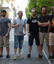Dub Inc es una banda de reggae y presenta su música en Guatemala. (Foto Prensa Libre: Keneth Cruz)