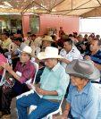 Productores de café asistieron ayer a una reunión con 15 alcaldes, en la Anam, informó esta entidad. (Foto, Prensa Libre: Anam).