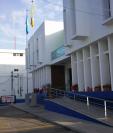 Edificio de la Municipalidad de Mixco. La comuna pagará Q88 mil 971.75 por mil 575 libras de carnitas y chicharrones. (Foto Prensa Libre: Hemeroteca PL)