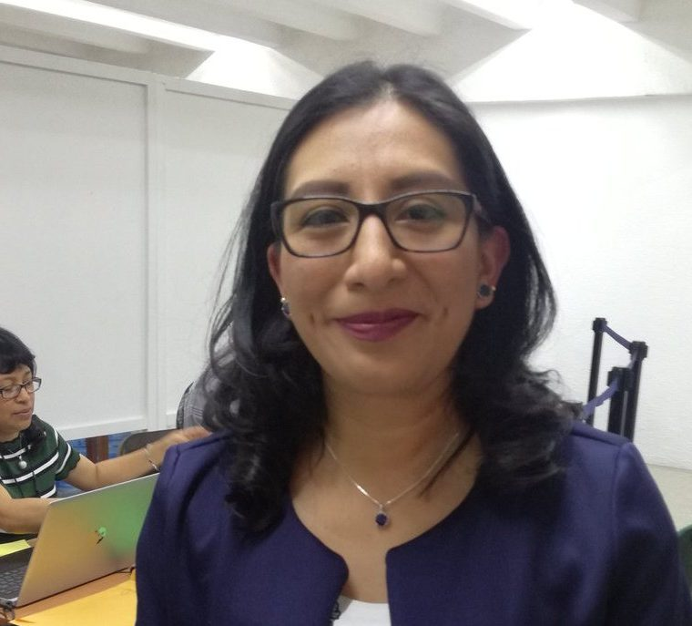 Vilma del Rosario Xicará fue viceministra de Gobernación. (Foto Prensa Libre: Guatemala Visible)