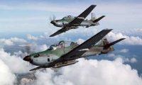 La compra de seis aviones Super tucanos fueron rechazadas después de detectarse que estaban sobrevalorados (Foto Prensa Libre: Cortesía)