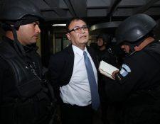 El magistrado Eddy Giovanni Orellana Donis es sindicado por el Ministerio Público por el delito de cohecho pasivo. (Foto Prensa Libre: Érick Ávila)