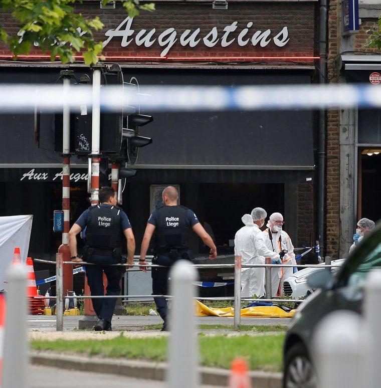 Un presunto terrorista mata a dos policías y un civil en la ciudad belga de Lieja. (EFE).