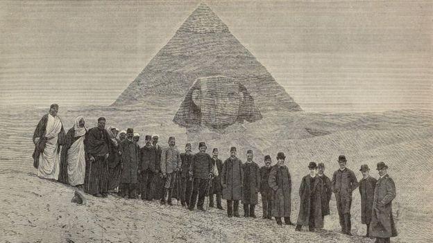 Cómo se construyeron las pirámides ha sido objeto de una gran especulación. GETTY IMAGES