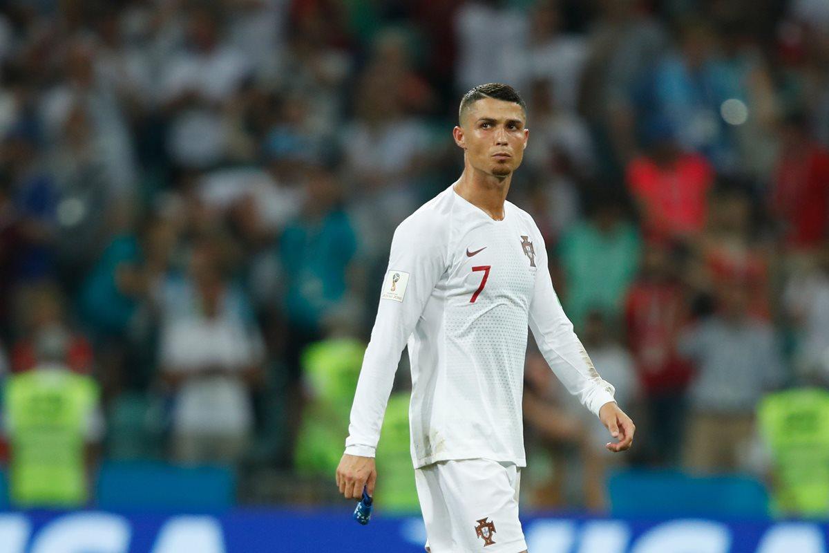 Cristiano Ronaldo se encuentra en el ojo del huracán después de las acusaciones de violación. (Foto Prensa Libre: AFP).