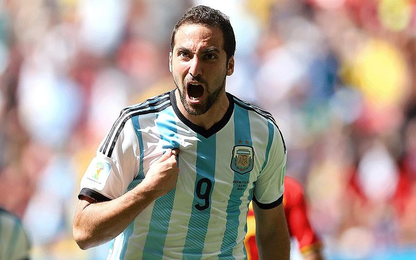 El delantero Higuaín fue tomado en cuenta por Sampaoli para los partidos de preparación rumbo a Rusia. (Foto Redes).