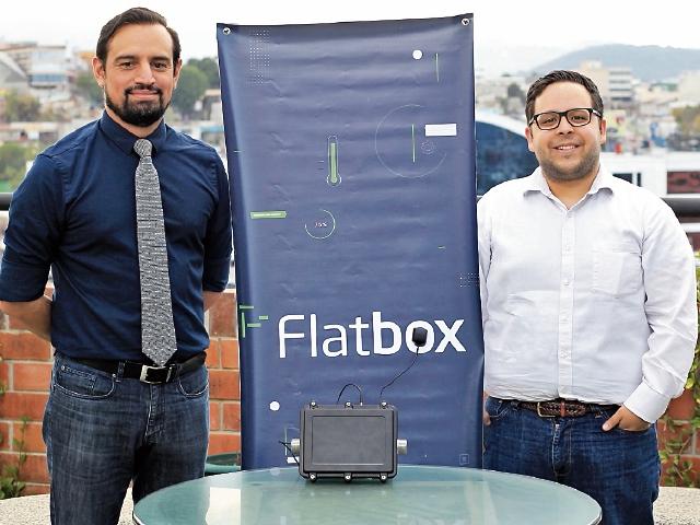 Edwin Kestler y Jorge Sandoval son los fundadores y socios de la empresa tecnológica Flatbox, ubicada en el Campus Tec.