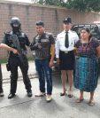 Capturados habrían matado a dos niños en San Juan Sacatepéquez por un conflicto de tierras. (Foto Prensa Libre: PNC)