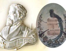 Retrato de Juan Bautista Frener, diseñador del escudo nacional en 1871. (Foto: Hemeroteca PL)