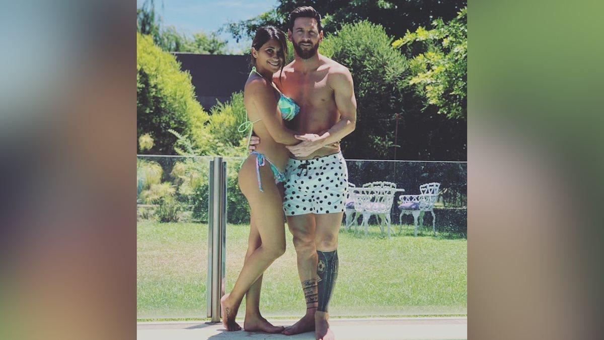 Lionel Messi compartió esta fotografía durante sus vacaciones en Rosario. (Foto Prensa Libre: Instagram Lionel Messi)