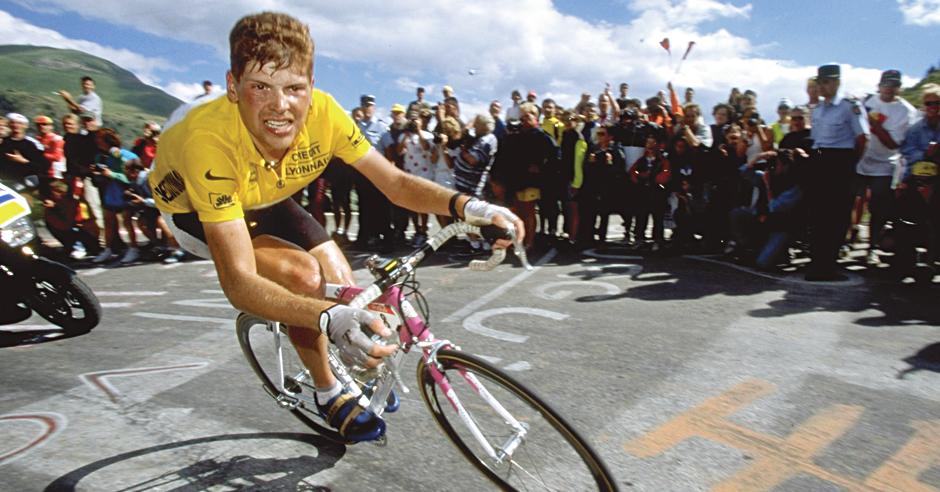 El alemán Jan Ullrich ganó el Tour de Francia en 1997 y después dio positivo en pruebas de dopaje. (Foto Prens aLibre: Hemeroteca)