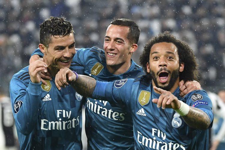 Marcelo cerró la cuenta en el Allianz Stadium con el 3-0 definitivo. (Foto Prensa Libre: AFP)