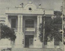 Paraninfo Universitario. Anteriormente Facultad de Medicina, Universidad de San Carlos. (Foto: Hemeroteca PL).